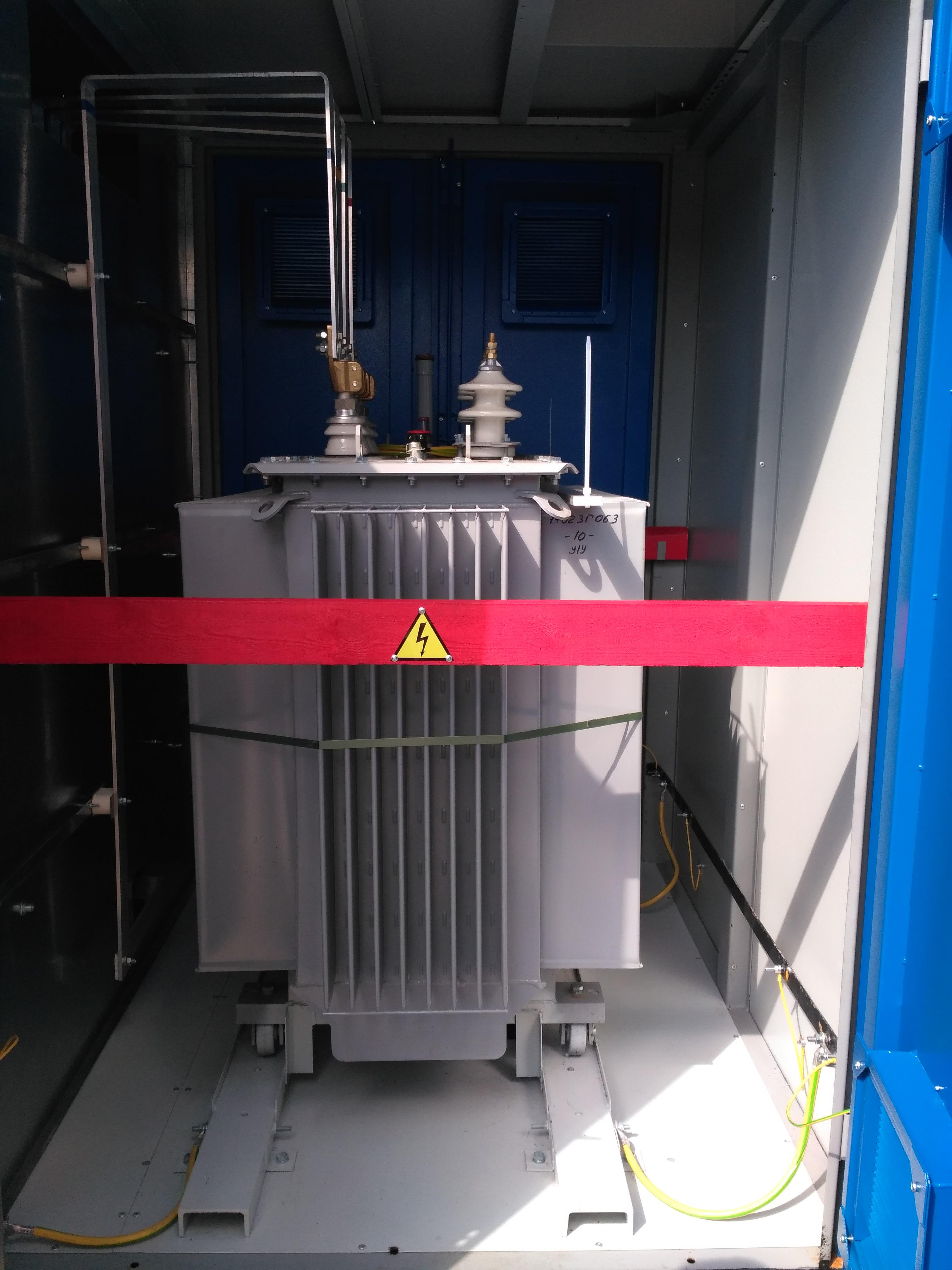 КТПНу  630 кВА воздух-кабель для нужд ПАО Татнефть