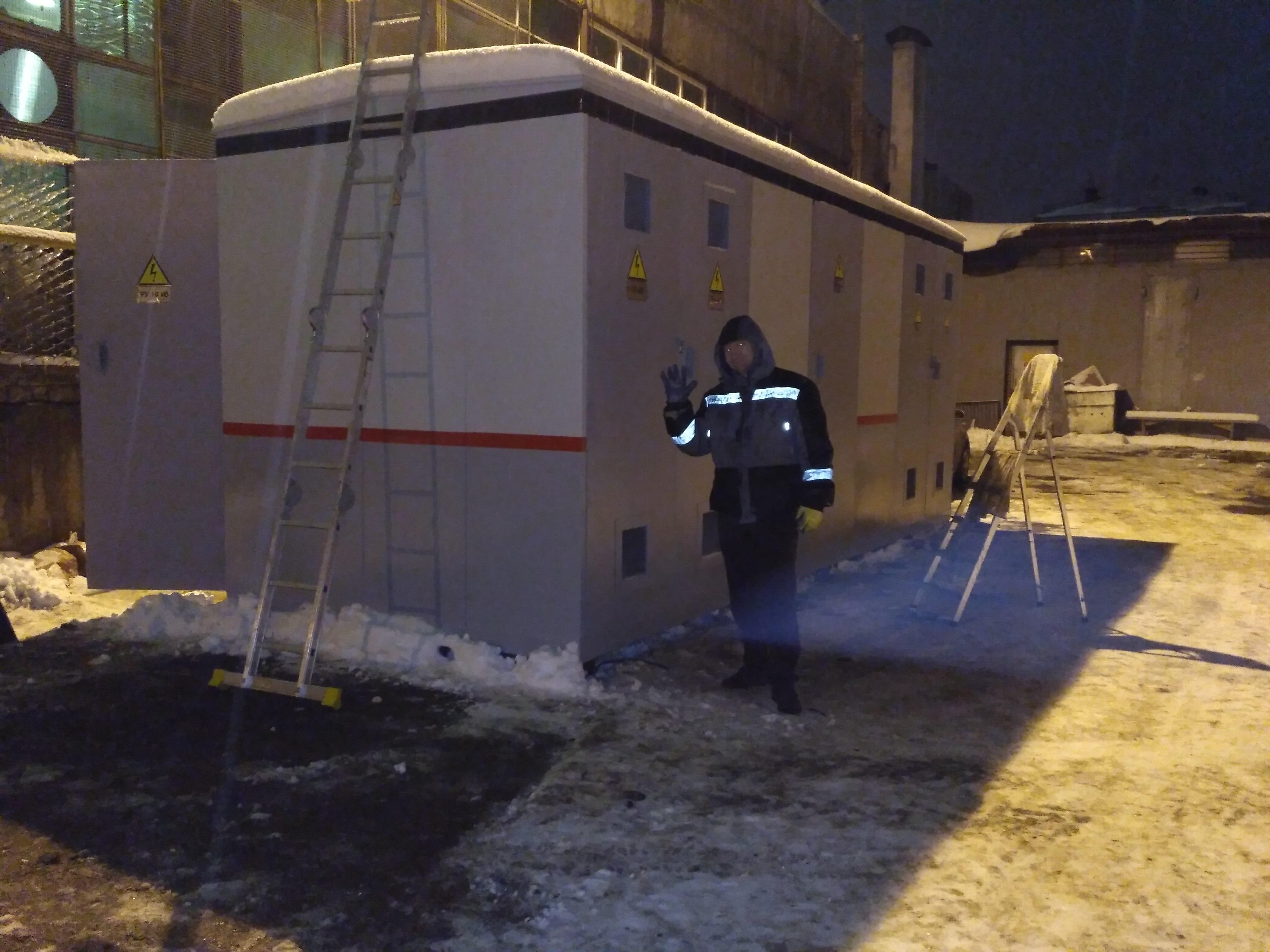 Подготовка к отгрузке КТПНу 1000кВА для нужд ОАО РЖД